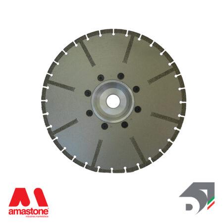 Disco elettrodeposto a settori per marmo - Rinforzato - Diamar